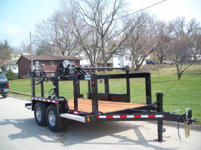 Cable Reel Trailers Rice Trailers Denison Iowa